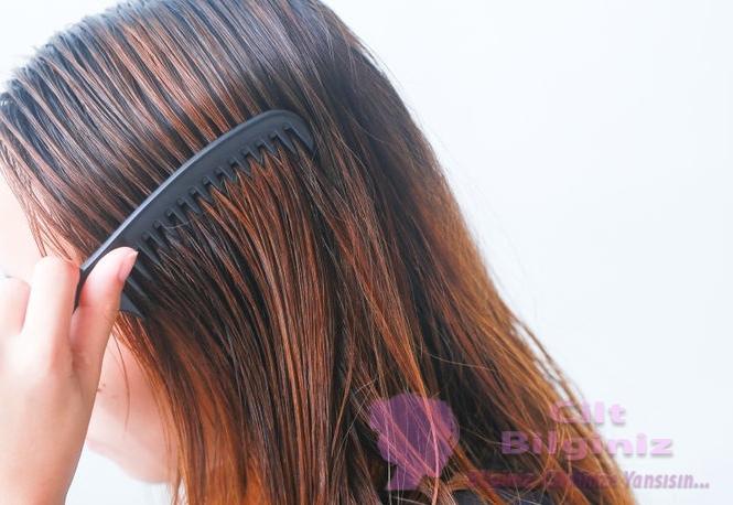 Evde Muz İle Saç Düzleştirme