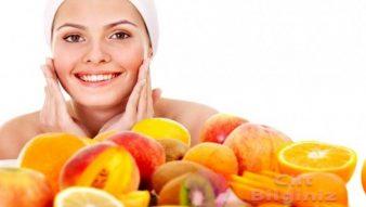 Meyveler ve Cilt Bakımı