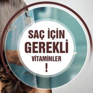 Saç Sağlığı İçin Vitamin ve Mineraller